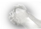 기도하는 손과 십자가 템플릿
