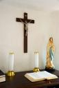 성모마리아와 십자가 템플릿
