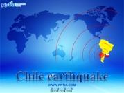 Chile earthquake 템플릿