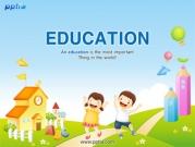 학교와 어린이 템플릿