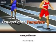 육상선수들 A 템플릿