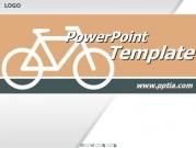 자전거 픽토그램 B 템플릿