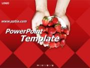딸기 B 템플릿