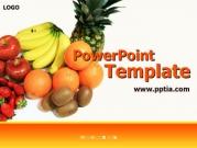 사과, 딸기, 키위, 오렌지, 바나나, 파인애플 B 템플릿
