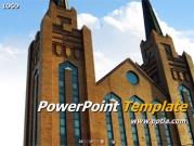 교회 건물 A 템플릿